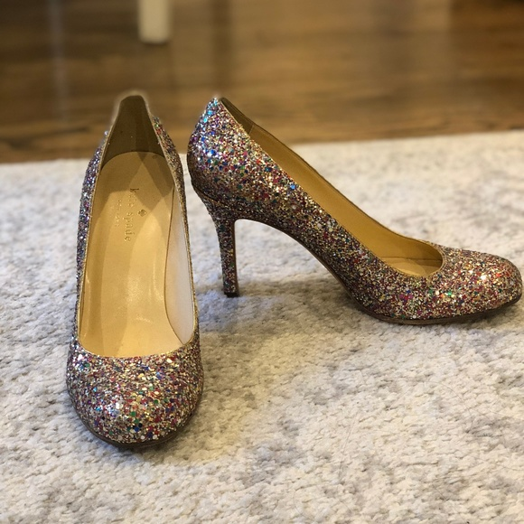 4047b9260473 kate spade Shoes - Kate Spade New York Round Toe Glitter Pump